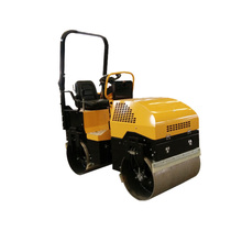 1.8 ton double drum vibro road roller