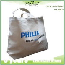 Hot selling shopping tote bag with logo printed , grocery canvas cotton bag online shopping