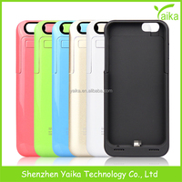 HOT! External Backup for iPhone 6 Battery Case Charger Case,for iPhone 6 Power Bank Case for iPhone6