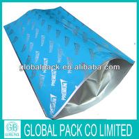Custom printed aluminum foil stand up carbon dust bag