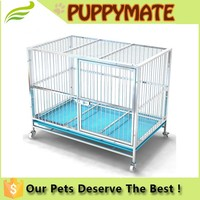 High quality stainless steel with wheels removable Dog Cage, Dog House