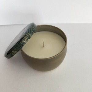Factory Supply 100g Soy Wax Made Tin Pouring Candle