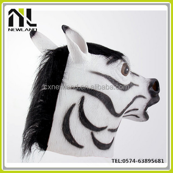 High Quality full head realistic Halloween Animal female latex mask