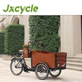non electric cargo pedal trike chinese open body