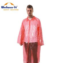 Stronger Durable ODM Avaliable logo disposable rain poncho
