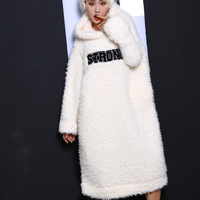 Towel White Patch Fleece Casual Elegant