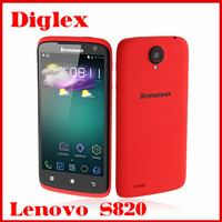 Original Lenovo S820 MTK6589 Quad Core Android 4.2 Smart Phone 4.7 inch 1GB RAM 4GB ROM 13MP Dual Sim Card GPS 3G Phone