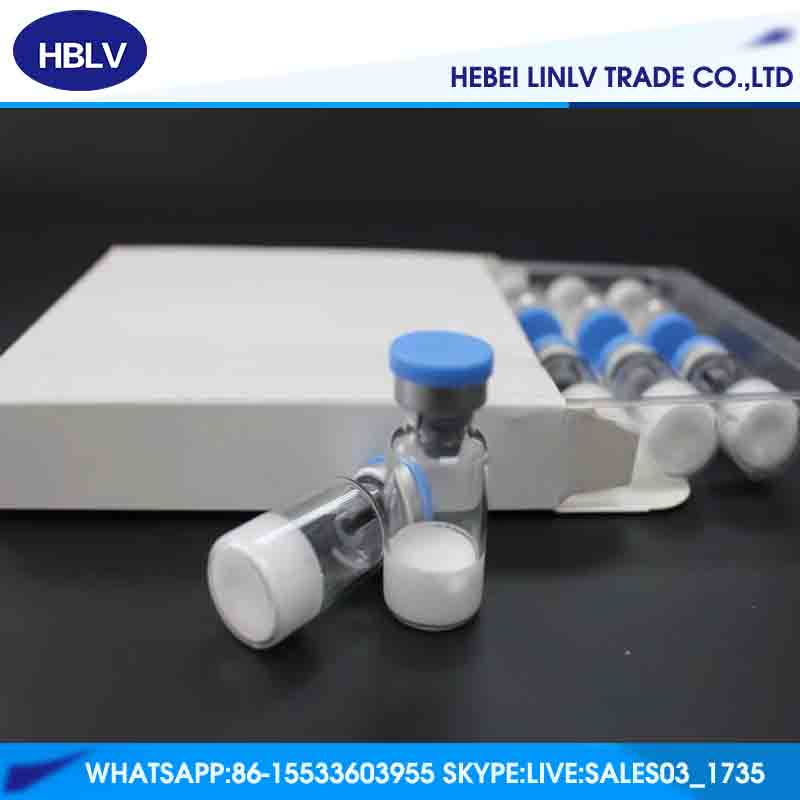 High quality Medicine Grade 99% Purity human growth hormone HGH /191aa with reasonable price CAS 12629-01-5