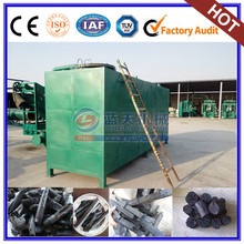 Low price briquette carbonization furnace for coal and charcoal
