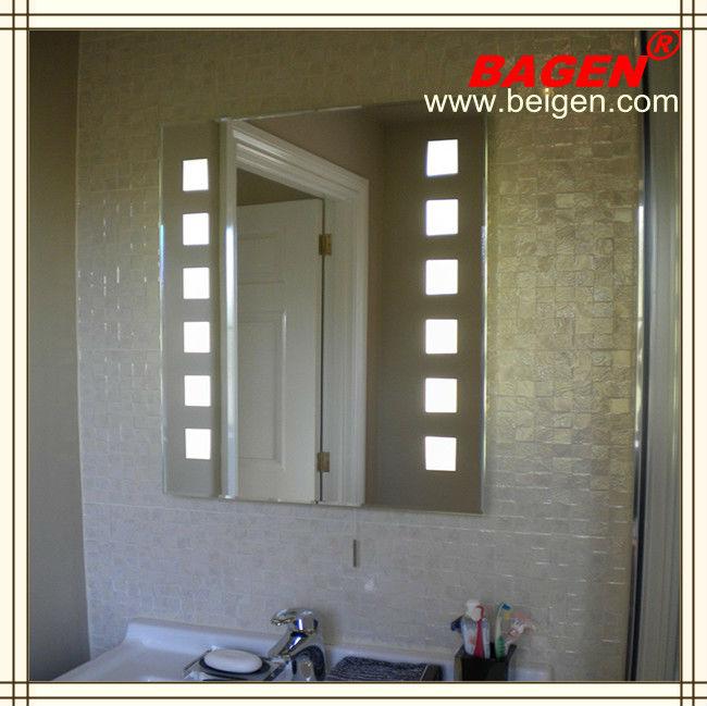 Ba o espejos decorativos iluminaci n de la pared espejos for Espejos decorativos bano