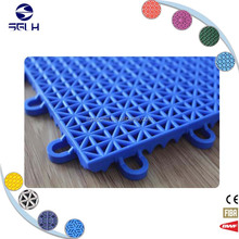 PP interlocking outdoor modular tile flex court outdoor basketball floor