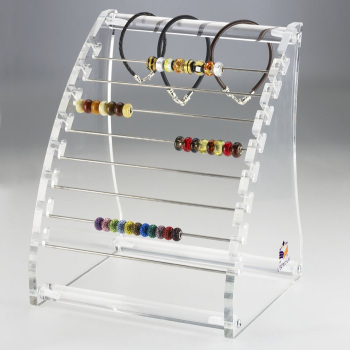custom clear plastic hanging jewelry organizer