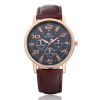 Well-marked leisure cheap items fashionable design watches men quartz wristwatch