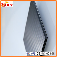 4mm transparent double wall Polycarbonate two layer polycarbonate sheet