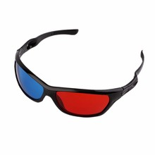 Best polarized red and blue Lens 3D Glasses for LCD Movie Video