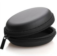 Zipper earphone eva travel carrying case