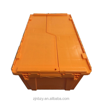 2018 best sell plastic turnover crate for logistics