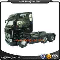 High simulation 1 24 metal heavy truck model,semi-trailer truck for sale