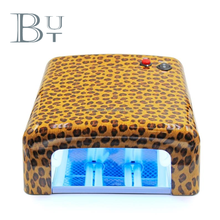 Professional 36W UV nail lamp, Leopard nails dryer, gel polish dryer