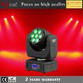 Guangzhou stage light 7*12w 4 in 1rgbw beam led lights moving head china price list
