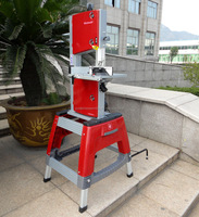 Stand Mounted Band Saw Used Wood Cutting Band Saw Mill