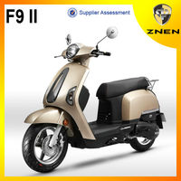 F9 II- 2018 China patent model 50cc ,125cc and 150cc classical eletric scooter,gas scooter,motorcycle,bike