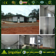 modular container camp with ISO 9001:2008