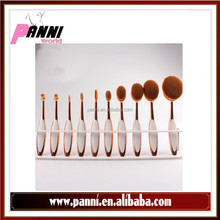 10pcs Oval Makeup Brush, Make up Brushes, Oval Toothbrush Makeup Brush Set