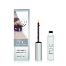 original 100% feg eyelash growth treatments makeup feg eyelash enhancer 7 days longer thicker Eye Lash
