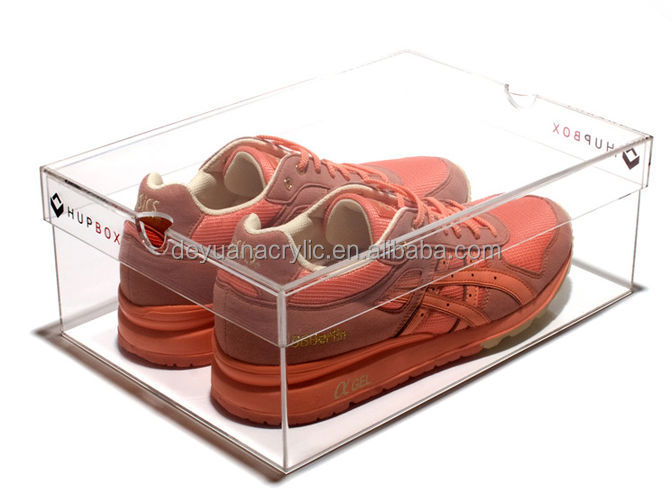 factory acrylic shoe display,clear acrylic shoe boxes,acrylic shoe display box