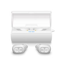 Excel Digital New Arrival Twins 4.1 Truely Double in-ear wireless sport headsets TWS bluetooth earbuds with charger box