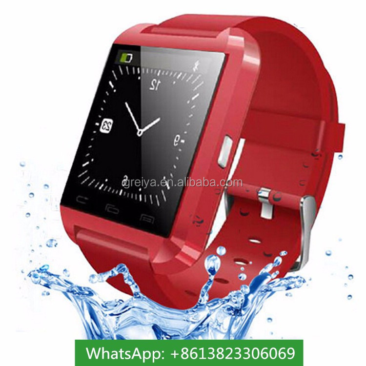 New model digital unlocked smart watch mobile phone U8