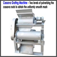 20 tons small scale cassava flour milling machine breakfast meal processing plant