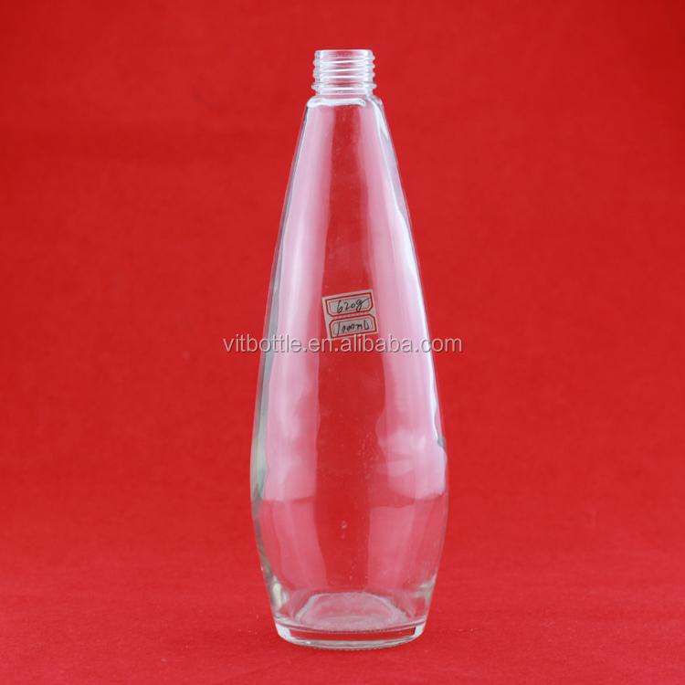 Оригинальные стеклянные бутылки