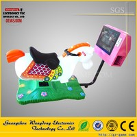 horse riding games for kids Kids Coin-operated game machine children indoor rides 3D horse racing 3d swing horse