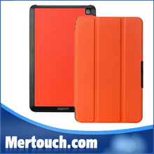 Nice colorful custer 3 fold stand leather tablet PC case for kindle fire wholesale