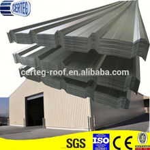 YX 820 Corrugated Color or Galvalume fibre cement roofing sheets