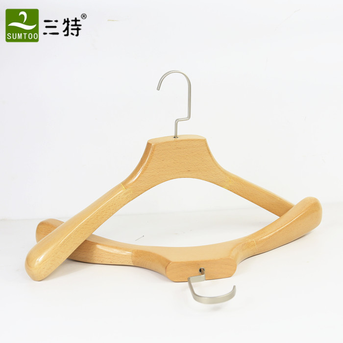 luxury wooden lady clothes hanger