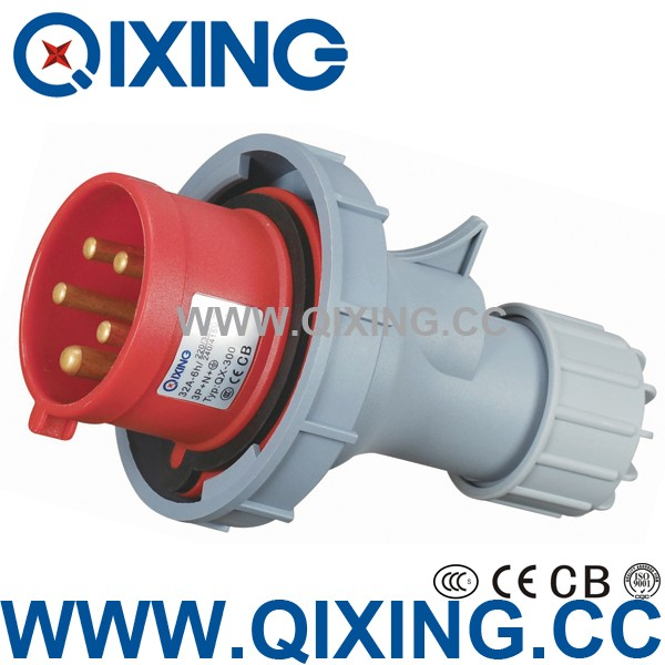 IP67 5P 3 phase multi plug and socket supplier g for waterproof box
