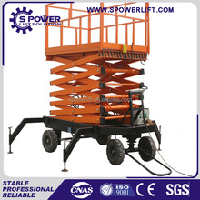 Spower hot product for aerial work motorcycle lift table/hydraulic lift