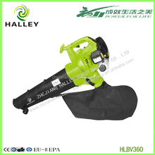 2 Cycle Gas Powered Backpack leaf chipper shredder