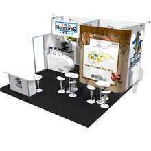 hot sale aluminum portable exhibition booth stand