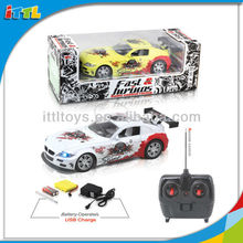 A514133 Battery Operated RC Car Toy Plastic Drift RC Car
