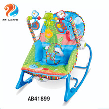Newborn-to-Toddler baby plush rocking chair baby rocker baby bouncer