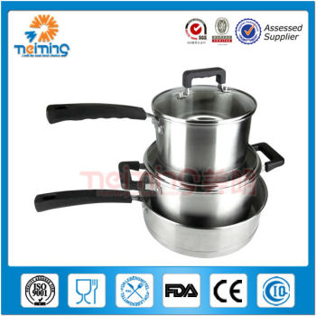 6pcs stainless steel professional cooking pot