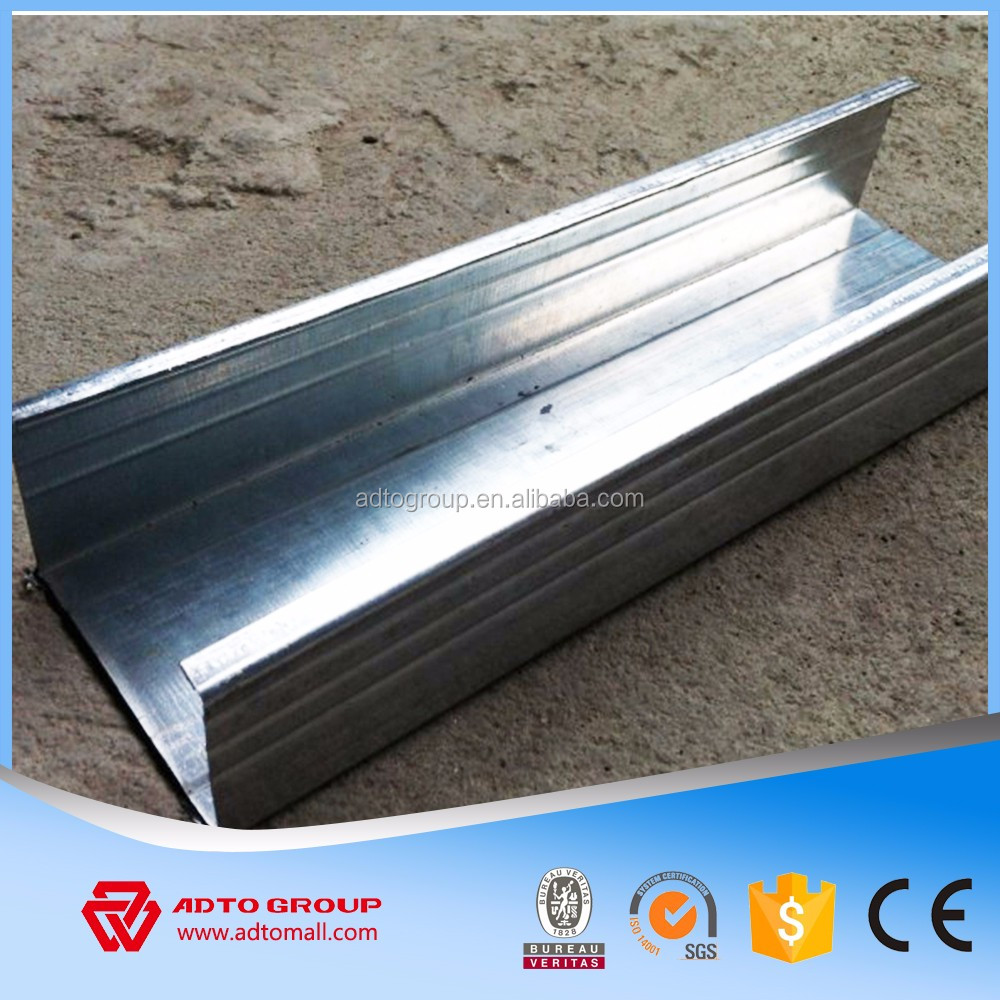 Galvanized Steel CD UD Channel Light Steel Profiles
