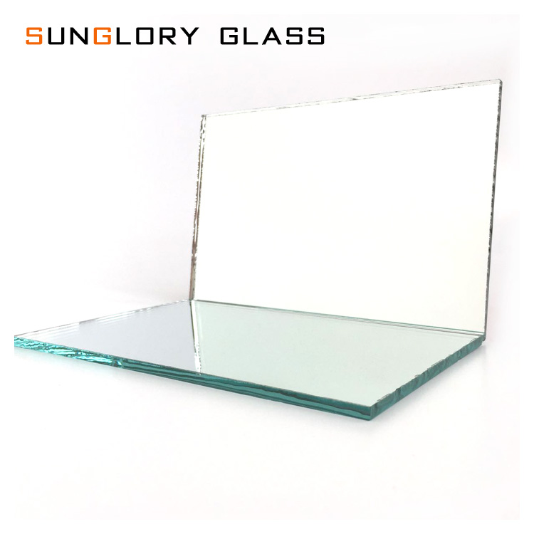 6mm 5mm 4mm 3mm 2mm Float Aluminum Mirror with single or Double Back Paint
