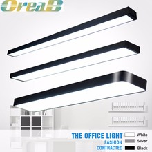 30w 40w 50w 60w 80w Dimmable led suspended ceiling light,office hanging led light panel with emergency kit