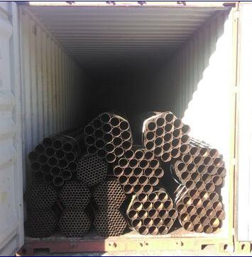 Black ERW Pipes ASTM A53 Welded Carbon Steel Pipe and Tubes