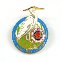 Gold Plated Fashion Design Cheap Custom Lovely Bird Pins Cute Cheap Gifts Brass Metal Hard Enamel Tourist Souvenirs